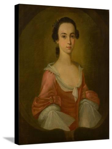 Portrait of Mrs. Gardner Greene, 1770-Jeremiah Theus-Stretched Canvas Print