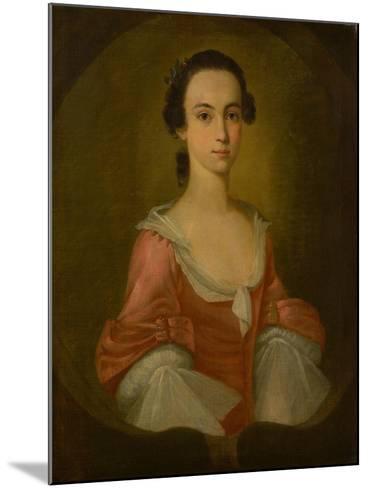Portrait of Mrs. Gardner Greene, 1770-Jeremiah Theus-Mounted Giclee Print