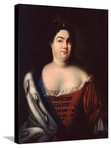 Catherine I-Johann Heinrich Wedekind-Stretched Canvas Print