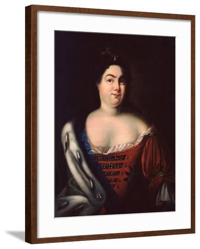 Catherine I-Johann Heinrich Wedekind-Framed Art Print