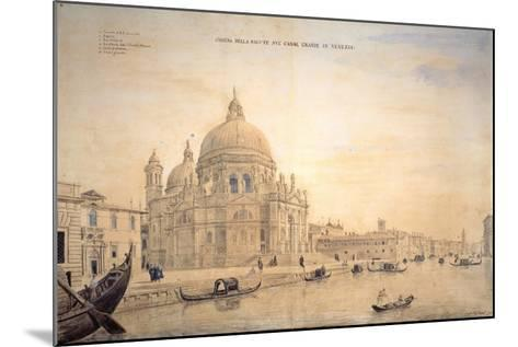 Chiesa Della Salute, Grand Canal, Venice-Gaspar van Wittel-Mounted Giclee Print