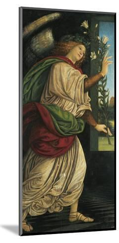 Italy, Varallo, Painting of the Archangel Gabriel--Mounted Giclee Print