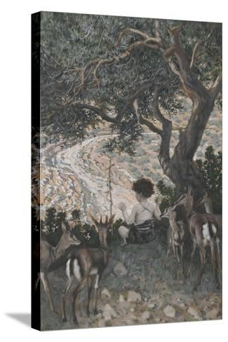 The Childhood of Saint John the Baptist from 'The Life of Our Lord Jesus Christ'-James Jacques Joseph Tissot-Stretched Canvas Print