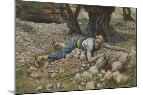 The Hidden Treasure from 'The Life of Our Lord Jesus Christ'-James Jacques Joseph Tissot-Mounted Giclee Print