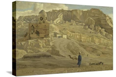 The Mokattam from the Citadel of Cairo from 'The Life of Our Lord Jesus Christ'-James Jacques Joseph Tissot-Stretched Canvas Print