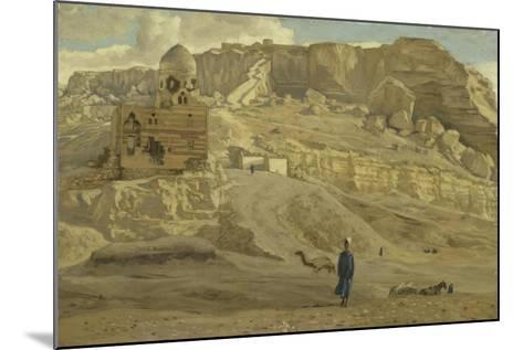 The Mokattam from the Citadel of Cairo from 'The Life of Our Lord Jesus Christ'-James Jacques Joseph Tissot-Mounted Giclee Print