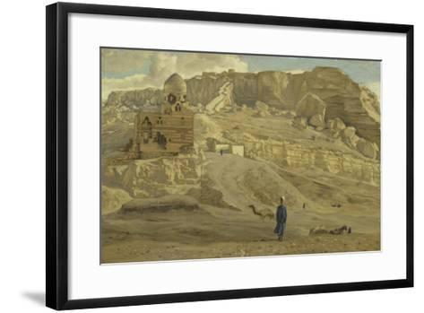 The Mokattam from the Citadel of Cairo from 'The Life of Our Lord Jesus Christ'-James Jacques Joseph Tissot-Framed Art Print