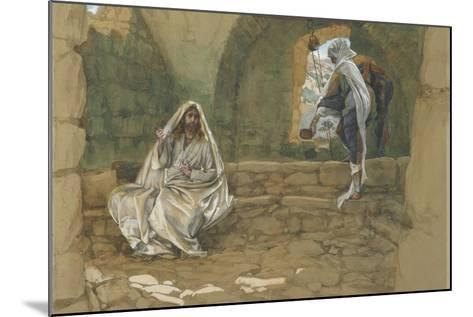 The Woman of Samaria at the Well from 'The Life of Our Lord Jesus Christ'-James Jacques Joseph Tissot-Mounted Giclee Print