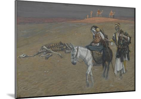 The Flight into Egypt from 'The Life of Our Lord Jesus Christ'-James Jacques Joseph Tissot-Mounted Giclee Print