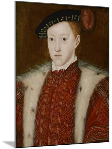 Portrait of Edward VI-Guillaume Scrots-Mounted Giclee Print