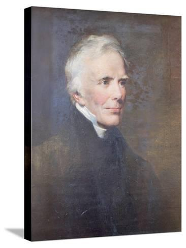 Reverend John Keble, 1876-George Richmond-Stretched Canvas Print