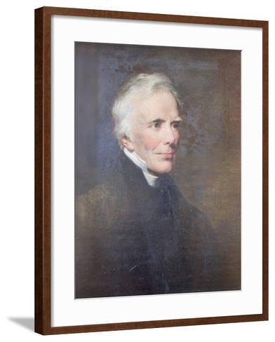 Reverend John Keble, 1876-George Richmond-Framed Art Print