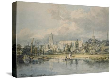South View of Christ Church from the Meadows, 19th Century-J^ M^ W^ Turner-Stretched Canvas Print