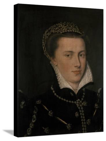 Agnes, Countess of Mansfeld--Stretched Canvas Print
