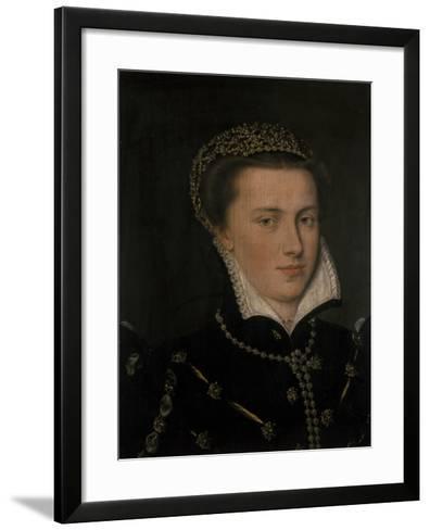 Agnes, Countess of Mansfeld--Framed Art Print