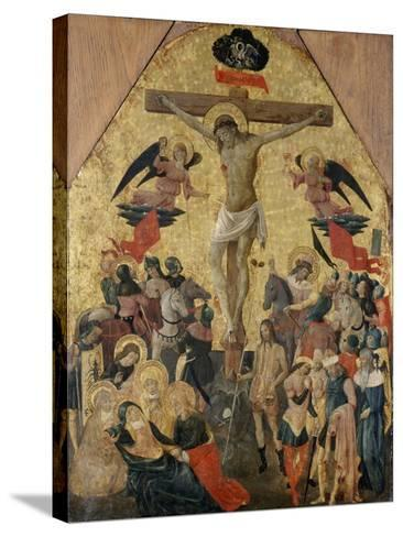 Crucifixion of Christ, 1480--Stretched Canvas Print