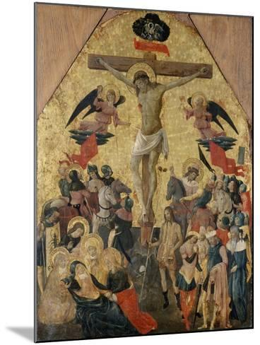 Crucifixion of Christ, 1480--Mounted Giclee Print