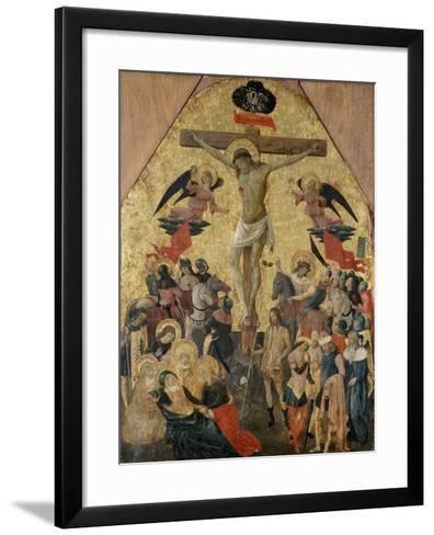 Crucifixion of Christ, 1480--Framed Art Print