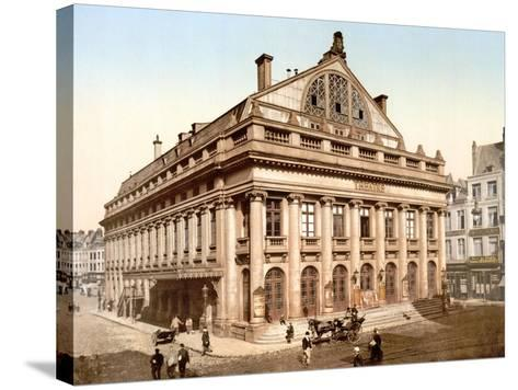 The Theatre, Lillie, France, Published C.1895--Stretched Canvas Print