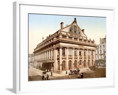 The Theatre, Lillie, France, Published C.1895--Framed Art Print