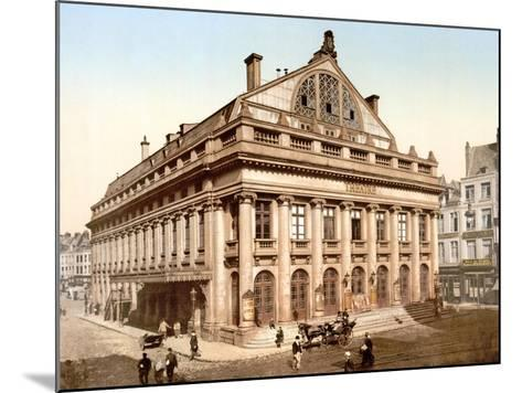 The Theatre, Lillie, France, Published C.1895--Mounted Giclee Print
