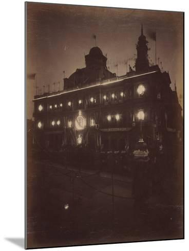 Electric Light Decorations for Federation Celebrations, Sydney, 1901--Mounted Photographic Print