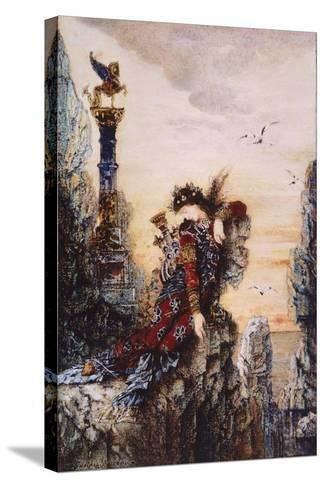 Sapphire, by Gustave Moreau (1826-1898)--Stretched Canvas Print