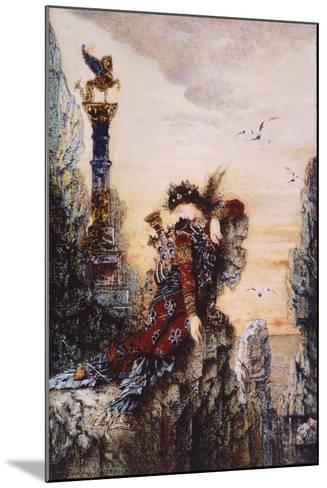Sapphire, by Gustave Moreau (1826-1898)--Mounted Giclee Print