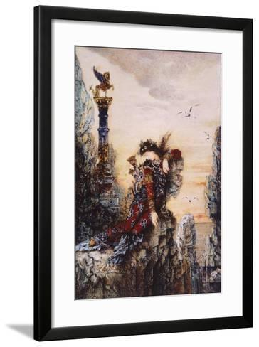 Sapphire, by Gustave Moreau (1826-1898)--Framed Art Print