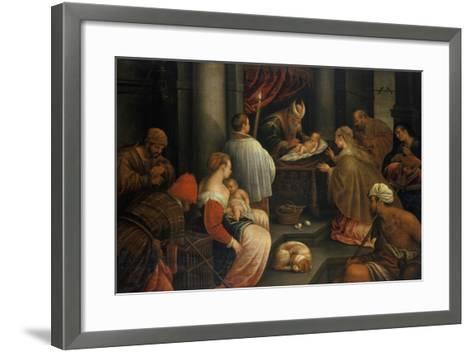 The Presentation of Christ in the Temple--Framed Art Print