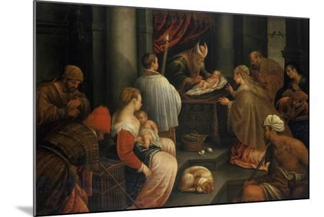 The Presentation of Christ in the Temple--Mounted Giclee Print