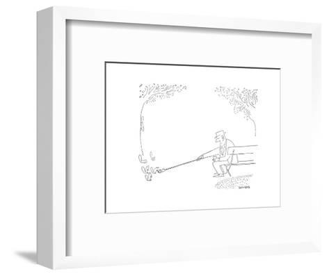 New Yorker Cartoon-Saul Steinberg-Framed Art Print