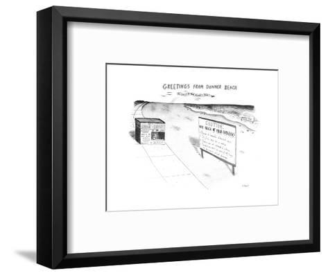 New Yorker Cartoon-Roz Chast-Framed Art Print
