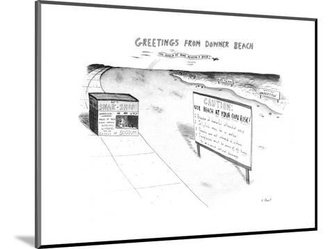 New Yorker Cartoon-Roz Chast-Mounted Premium Giclee Print