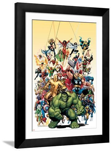 Avengers Classics No.1 Cover: Hulk-Arthur Adams-Framed Art Print