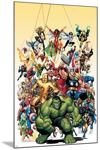 Avengers Classics No.1 Cover: Hulk-Arthur Adams-Mounted Poster