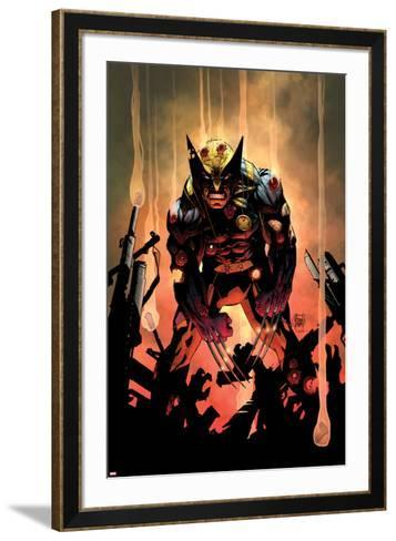 Wolverine No.300 Cover-Adam Kubert-Framed Art Print