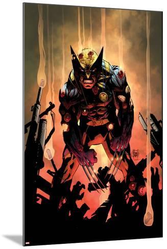 Wolverine No.300 Cover-Adam Kubert-Mounted Poster