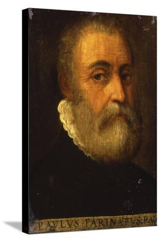 Portrait of the Artist-Paolo Farinati-Stretched Canvas Print