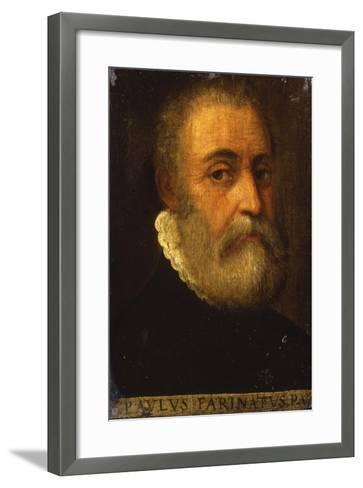 Portrait of the Artist-Paolo Farinati-Framed Art Print