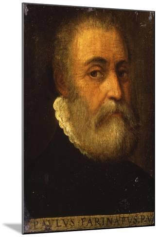 Portrait of the Artist-Paolo Farinati-Mounted Giclee Print