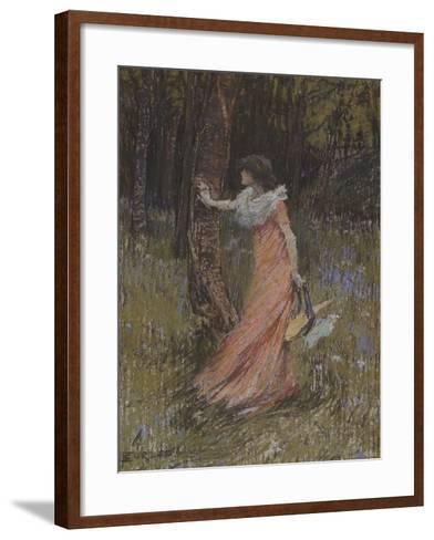 Hide and Seek-Elizabeth Adela Stanhope Forbes-Framed Art Print