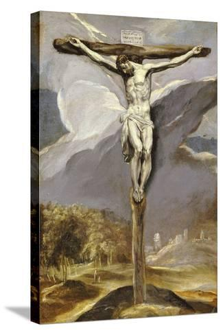 Christ on the Cross-El Greco-Stretched Canvas Print