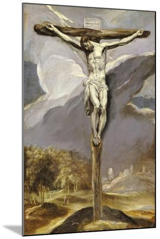 Christ on the Cross-El Greco-Mounted Giclee Print