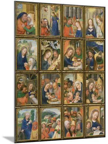 Life of the Virgin, from the 'Stein Quadriptych'-Simon Bening-Mounted Giclee Print