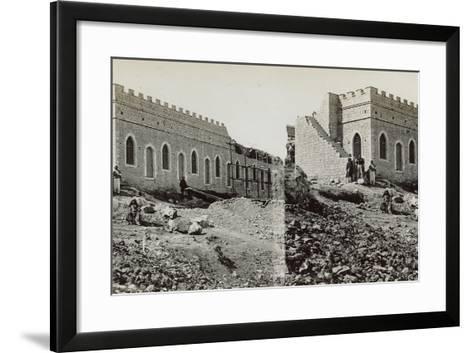 Mishkenot Sha'Ananim, 1860s-Mendel John Diness-Framed Art Print