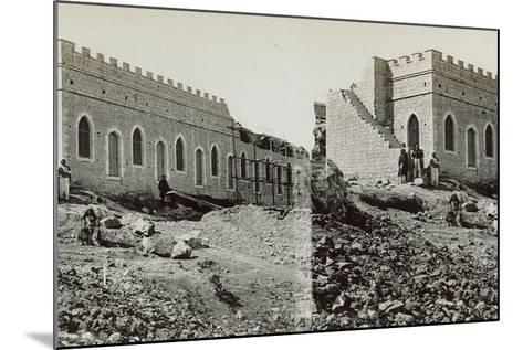 Mishkenot Sha'Ananim, 1860s-Mendel John Diness-Mounted Photographic Print