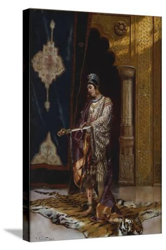 An Odalisque-Rudolphe Ernst-Stretched Canvas Print