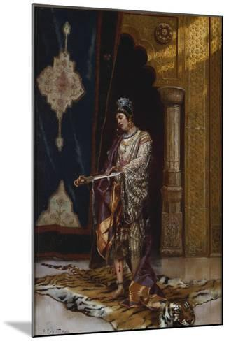 An Odalisque-Rudolphe Ernst-Mounted Giclee Print