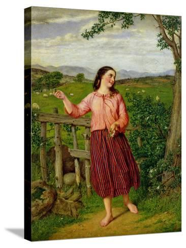 Highland Mary-William Gale-Stretched Canvas Print